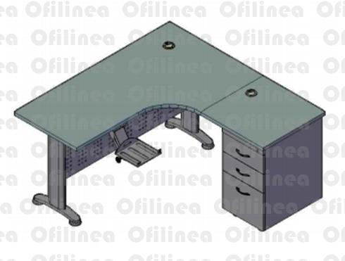 escritorio L